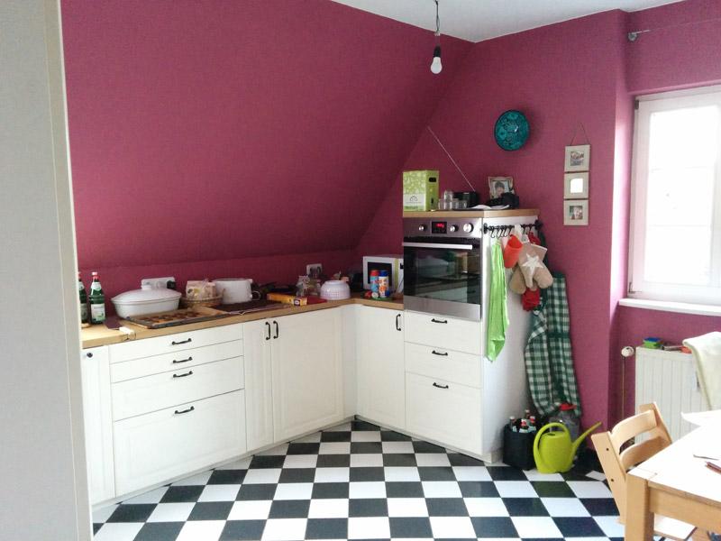Dachschräge Küche/Arbeitsplatte - Beleuchtung? - Stillen-Und-Tragen.De